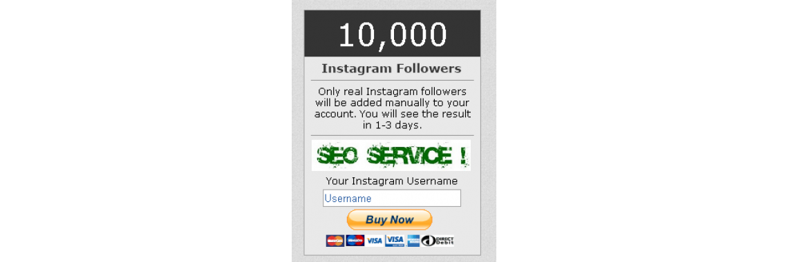 10000 Instagram Followers