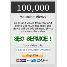 100000 You Tube View