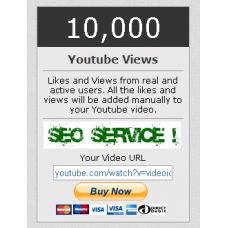 10000 You Tube View