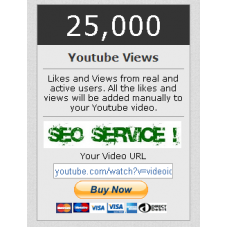 25000 You Tube View